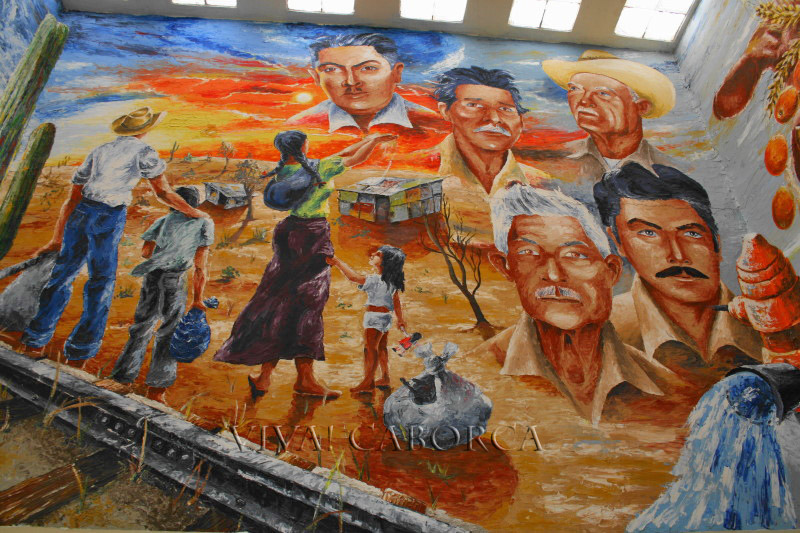 casa de la cultura mural