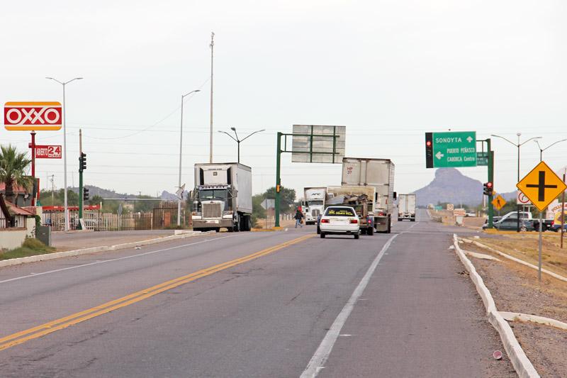 caborca highway