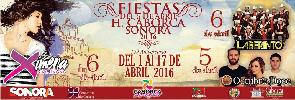 Caborca Fiestas de Abril 2016