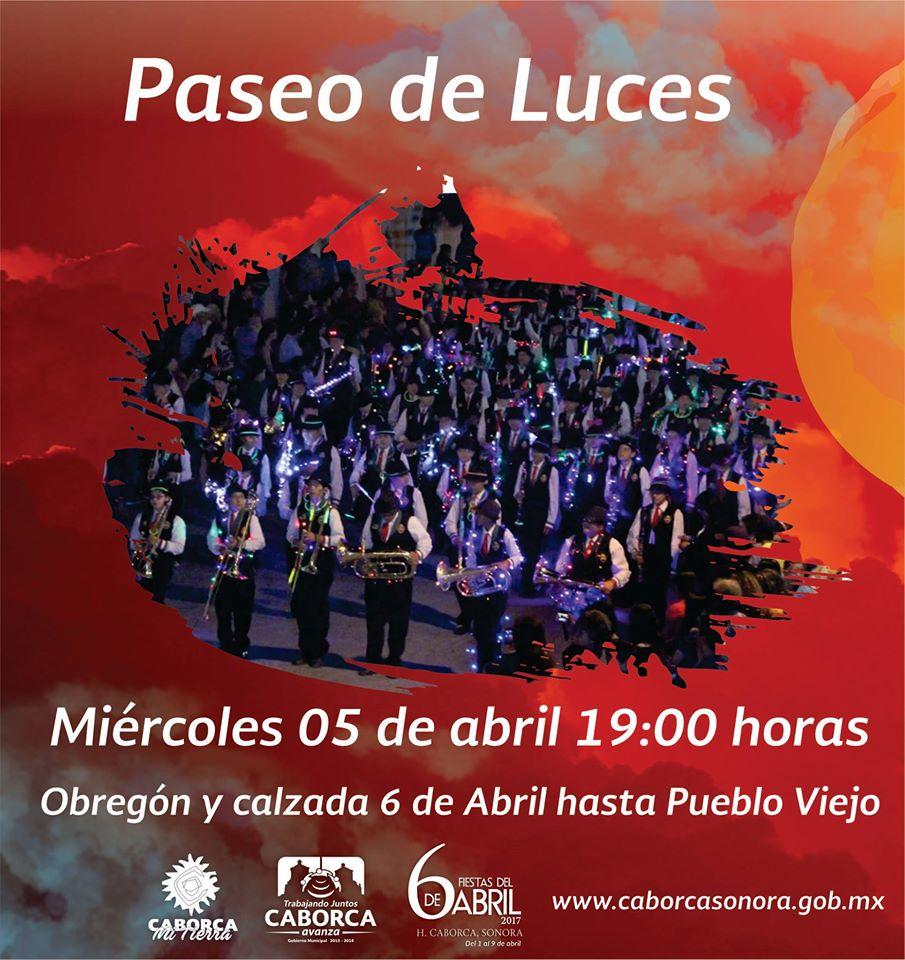 Caborca Fiestas de Abril 2017